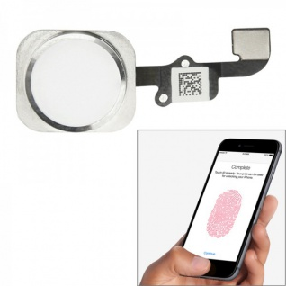 Home Button Finger Abdruck Touch ID Sensor für Apple iPhone 6 Flex Kabel Weiss