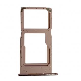 Sim Kartenhalter Pink für Huawei P Smart 2019 / Honor 10 Lite Ersatz Card Tray