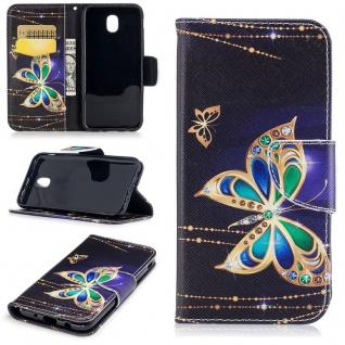 Tasche Wallet Motiv 39 für Samsung Galaxy J5 J530F 2017 Hülle Case Etui Cover