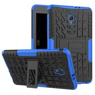 Hybrid Outdoor Schutzhülle Blau für Samsung Galaxy Tab A 8.0 2017 T385 Hülle Neu