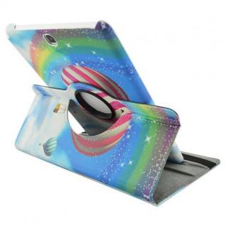 Schutzhülle 360 Grad Muster 33 Tasche für Samsung Galaxy Tab A 9.7 T550 T555 Neu