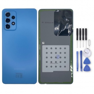 Samsung Akkudeckel Akku Deckel Batterie Cover Galaxy A72 GH82-25448B Blau