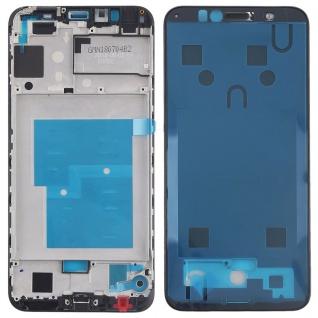 Gehäuse Rahmen Mittelrahmen Deckel für Huawei Y6 2018 Schwarz Reparatur Ersatz
