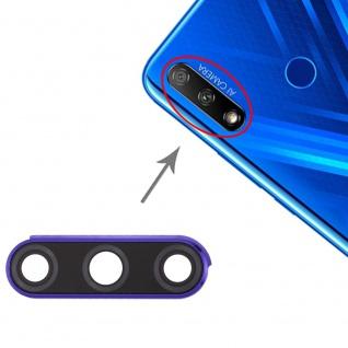 Camera Lens für Huawei Honor 9X Cam Lila Linse Ersatzteil Reparatur Zubehör