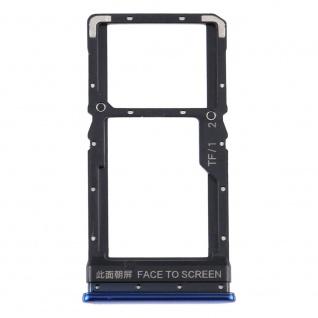 Für Xiaomi Poco X3 Card Tray Sim Karten Halter Blau Ersatzteil Zubehör Reparatur