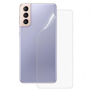 Backcover Hydrogel Folie für Samsung Galaxy S21 Plus Schutz Cover Gel Rückseite