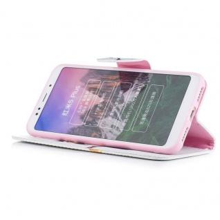 Für Huawei P20 Kunstleder Tasche Book Motiv 35 Schutz Hülle Case Cover Etui Neu - Vorschau 4