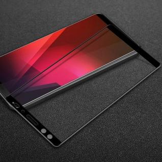 Für HTC U12 Life 1x 3D LCD Display Premium 0, 3 mm H9 Schutzglas Schwarz Folie