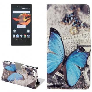 Tasche Wallet Premium Muster 13 für Sony Xperia X Compact F5321 Bookcover Hülle