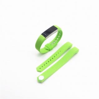 Für Fitbit Alta HR Kunststoff / Silikon Armband für Frauen / Größe S Grün Uhr