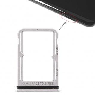Für Xiaomi Mi 8 Karten Halter Sim Tray Schlitten Holder Ersatzteil Silber