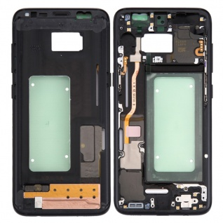 Mittelrahmen Rahmen Kamera Glas Gehäuse für Samsung Galaxy S8 G950 G950F Schwarz
