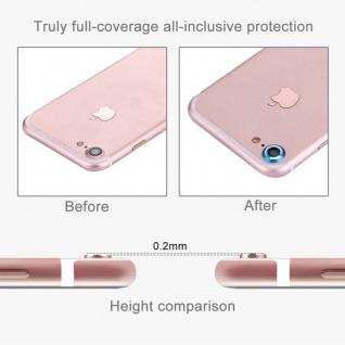 Kameraschutz für Apple iPhone 7 4, 7 Kamera Schutz Kameraring Cam Protector Gold - Vorschau 4