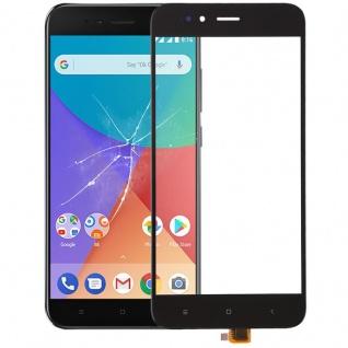Reparatur Displayglas Touch Screen für Xiaomi Mi A1 / Mi 5X LCD Schwarz Ersatz