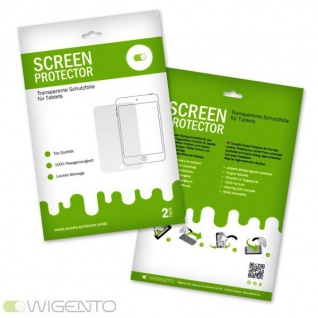 3x Displayschutzfolie für Samsung Galaxy Tab 4 10.1 SM-T530 Folie + Poliertuch