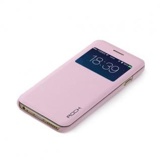 Original ROCK Window Smartcover Rosa für Apple iPhone 6 4.7 Cover Hülle Tasche