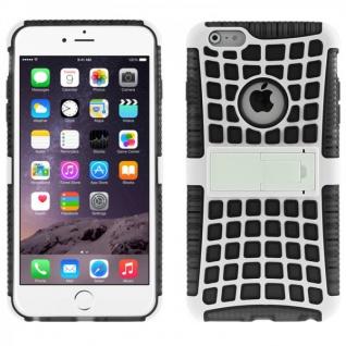 Hybrid Spider Case Robot Schwarz Cover Hülle Zubehör für Apple iPhone 6 4.7 Neu