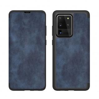 Beline Wallet Case für Samsung Galaxy S21 Plus Blau Schutz Handy Hülle Case Etui