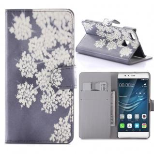 Schutzhülle Muster 59 für Huawei P9 Lite Bookcover Tasche Case Hülle Wallet Etui