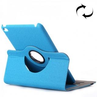 Deluxe Schutzhülle 360 Grad Hellblau Tasche für Apple iPad Mini 4 7.9 Zoll Hülle