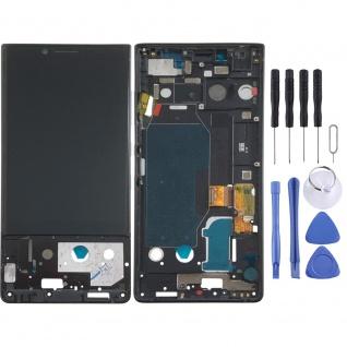 Für Blackberry KeyTwo Display LCD Einheit Touch Screen Ersatz mit Rahmen Schwarz