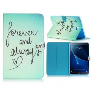 Schutzhülle Motiv 78 Tasche für Samsung Galaxy Tab A 10.1 T580 T585 Hülle Cover