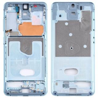 Mittelrahmen Samsung Galaxy S20 5G Blau Middle Frame Zubehör Ersatzteil