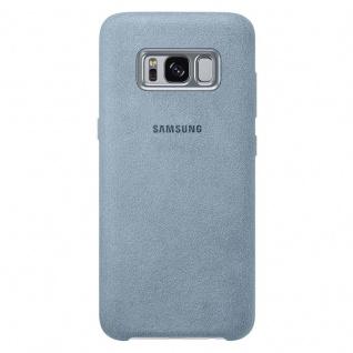 Samsung Alcantara Cover Schutzhülle EF-XG955AM für Galaxy S8+ G955F Hülle Mint