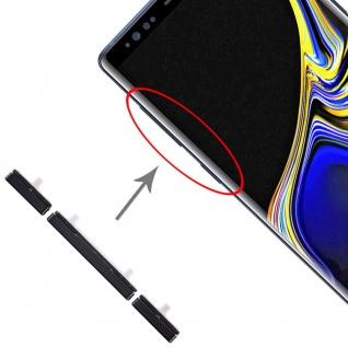 Für Samsung Galaxy Note 9 Sidekeys Seitentasten Schwarz Ersatz Zubehör Reparatur