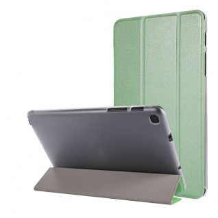 Für Samsung Galaxy Tab A7 Lite 2021 Wake UP Smart Cover Tablet Tasche Grün Etuis