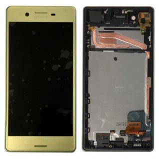 Sony Display LCD Komplett mit Rahmen für Xperia X F5121 F5122 Lime Ersatzteil