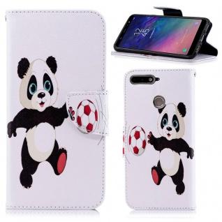 Tasche Wallet Book Muster Motiv 39 für Smartphones Schutz Hülle Case Cover Etui