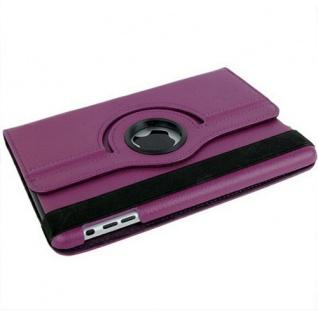 Hülle Tasche Rotierend 360 Grad für Apple iPad Mini Zubehör SET Folie + Stift - Vorschau 2