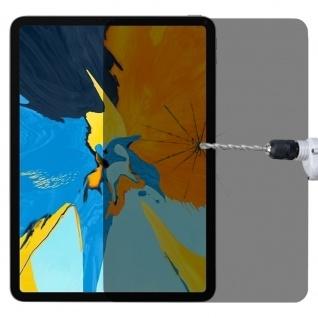 Privacy 0, 3 mm H9 Hart Glas Tempered Folie für Apple iPad Pro 12.9 2020 Panzer