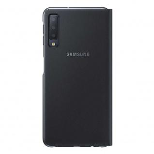 Samsung Wallet Cover Hülle EF-WA750PBEG Galaxy A7 2018 A750F Schutzhülle Schwarz - Vorschau 3