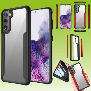 Für Samsung Galaxy S21 Plus Hybrid Iron Man Schwarz Handy Tasche Etuis Hülle