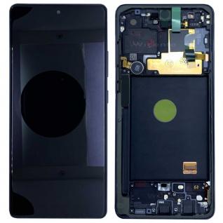 Samsung Display LCD Komplett für Galaxy Note 10 Lite N770F GH82-22055A Schwarz