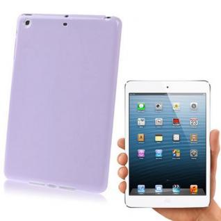 Hardcase Backcover für Apple iPad Mini Cover Schale + Folie Schutzfolie Etui NEW