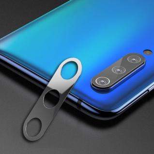 Rückseite Schutzrahmen für Xiaomi Mi 9 SE Silber Back Cam Ring Cover Kamera