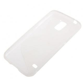 Design Hülle Schutz TPU für Samsung Galaxy S5 Mini G800 Cover Case transparent - Vorschau 3