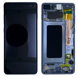 Samsung Display LCD Komplettset GH82-18849C Blau für Galaxy S10 Plus G975F 6.4