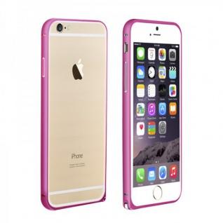 Original LOVE MEI Metall Bumper Pink für Apple iPhone 6 4.7 Hülle Schutz Zubehör