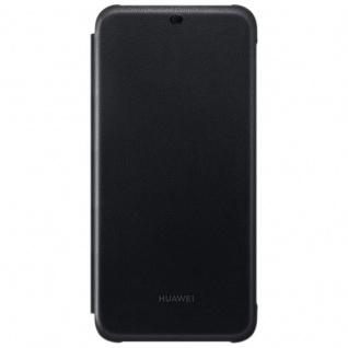 Huawei Wallet Flip Cover Schwarz für Mate 20 Lite Tasche Schutzhülle Hülle Case