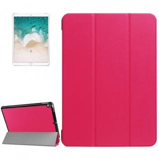Smartcover Pink Cover Tasche für Apple iPad Pro 10.5 2017 Hülle Etui Case Schutz