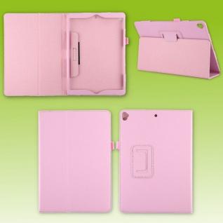 Für Apple iPad 10.2 2019 / 2020 7. / 8. Rosa Kunst-Leder Hülle Cover Tasche Etui