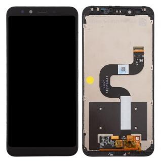 Für Xiaomi Mi A2 / Mi 6X Display Full LCD Touch mit Rahmen Reparatur Schwarz Neu - Vorschau 2