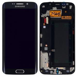 Display LCD Komplettset Touchscreen Schwarz für Samsung Galaxy S6 Edge G925F Neu