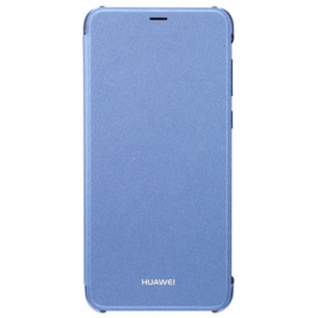 Original Huawei Flip Cover Blau für Enjoy 7S / P Smart Etui Tasche Hülle Case