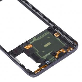 Mittelrahmen Samsung Galaxy A41 Schwarz LCD Rahmen Gehäuse Zubehör Ersatzteil - Vorschau 4