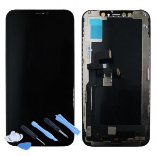 OLED Display LCD Einheit Touch Panel für Apple iPhone XS 5.8 Zoll Schwarz Neu